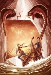 throne of fire, Indonesian published version by ibunibun