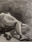 Life drawing midterm by 7AirGoddess3