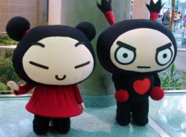 Pucca and Garu by astillar0b