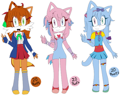 Adoptables 5 [CLOSED] by Axel0x