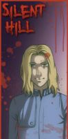 Silent Hill bookmarks - Walter by MidoriEyes