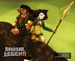 Brutal Legend - Fanart by misterplush