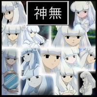 Inuyasha-Kanna Collage by Strawberry-of-Love
