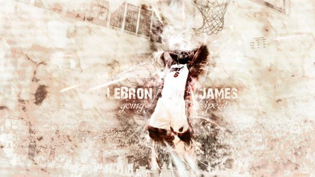 LeBron James - going 3peat by red-maupa