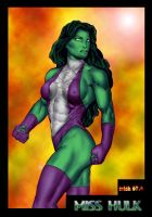 SHE HULK by Mich974