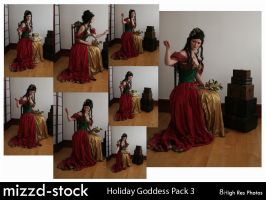 Holiday Goddess Pack 3 by mizzd-stock