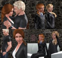 Theirin Wesker Family by SuperMeja