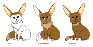 Eevee Variations part 2 by Bwabbit