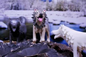 New Wolf Figurine! by MiniMynagerie