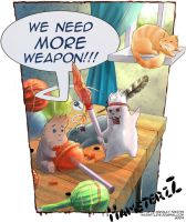 HamsterzZ. Weapon fever by WarNick