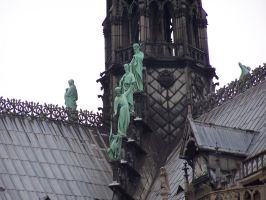 Paris - Notre Dame - stock by inner-outsider