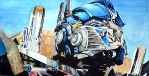 Bayverse Optimus by FreedomSparrow3