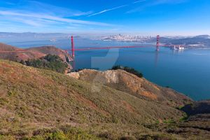 San Francisco and Golden Gate- Exclusive HDR Stock by somadjinn