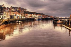 Whitby Harbour... by TheBaldingOne