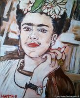 Frida Kahlo by Fabsand2