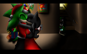 ::com:: I saw Mommy kissing Santa Claus by Libra-Dragoness