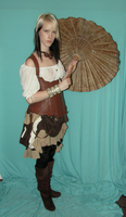 Steampunk Gypsy Stock 4 by KristabellaDC3