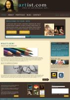 Website: Drawing Company by aremOgraphy