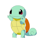 Squirtle Number 007 by PrincessPyrefly