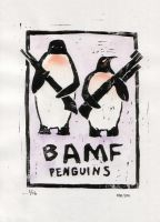 BAMF penguins by ihni