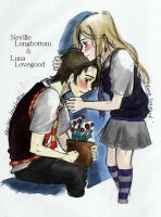Longbottom and Lovegood by orangehope