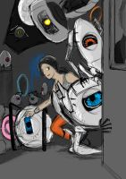 Portal 2: the Gang by iProton