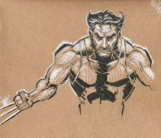 Wolverine sketch by mistermoster