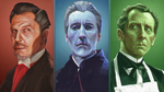 Horror '50s Triptych by HarlequiNQB