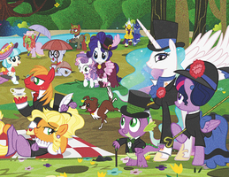 BTYF Calendar 2017 by PixelKitties