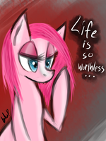 Pinkamena doodle by blup-chan