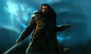Thorin Oakenshield by Ignis-vitae
