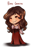 [OCs] Princess Genevieve Cheeb by banANNUmon