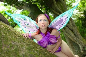 The Watching Faerie by LilBluePunk666