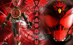 Kamen Rider OOO Tajadoru Combo Wallpaper by Little-Bas