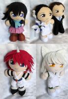 Commission, Mini Plushies from May/June by LadyoftheSeireitei