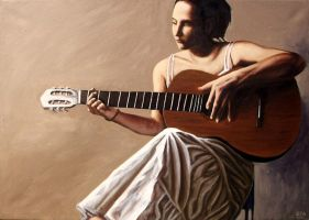 The Guitarist by ackers