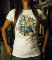 Castle Crashers Shirt by Nami914