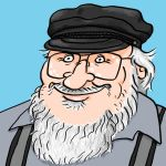 George R. R. Martin by KaissE