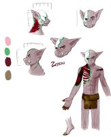 Zisteau Reference Sheet by DazeDawning