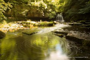 North Burton Waterfall by uncle-sam-hk