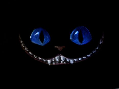 Happy Halloween - Cheshire Cat by BidouDadidou