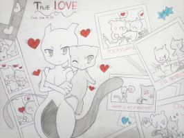 ~~Chibi Mewtwo and chibi Mew~~ by Mewtwosama10299