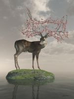 The Guardian of Spring by curious3d