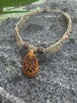 Elaborate Hemp Necklace by treehugginghappiness