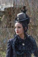 Stock - Victorian Lady 3 gothic by S-T-A-R-gazer