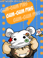 Gum-Gum on Facebook by amy-art