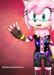 Amy rose style by heitor-jedi