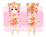 [Mochi Adopt] Orange Marmalade: CLOSED AUCTION by Mocomochii
