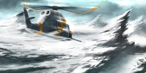 Rescue Chopper by mikemars
