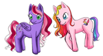 starsong and toola roola by karynironsides